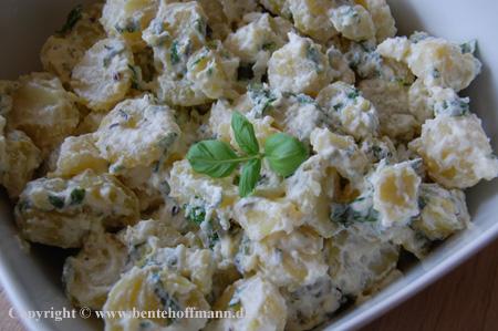 Kold Kartoffelsalat Med Krydderurter En Opskrift Fra Bentes Blog
